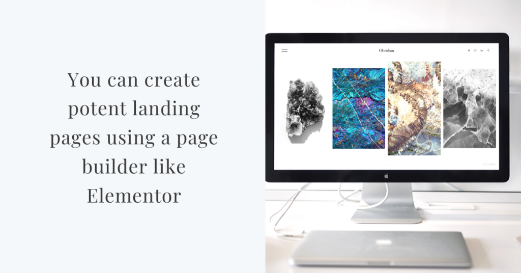 is wordpress good for building landing pages