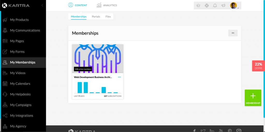 kartra membership