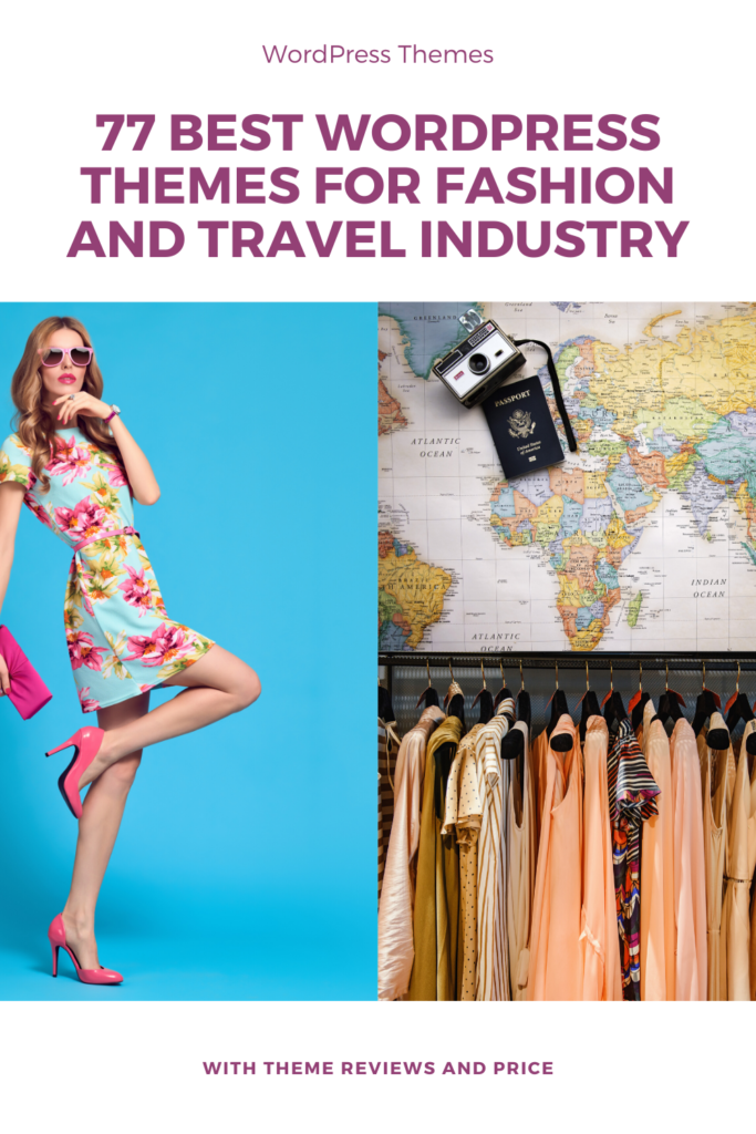 themes for fashion and travel industry