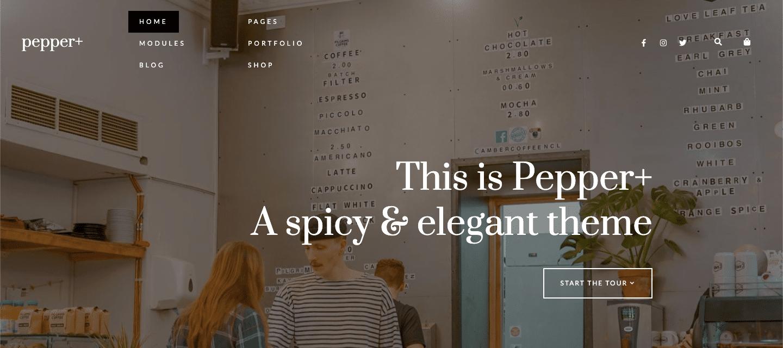 pepperplus wordpress theme
